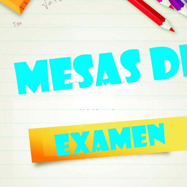 Mesas de Examen – Diciembre 2020